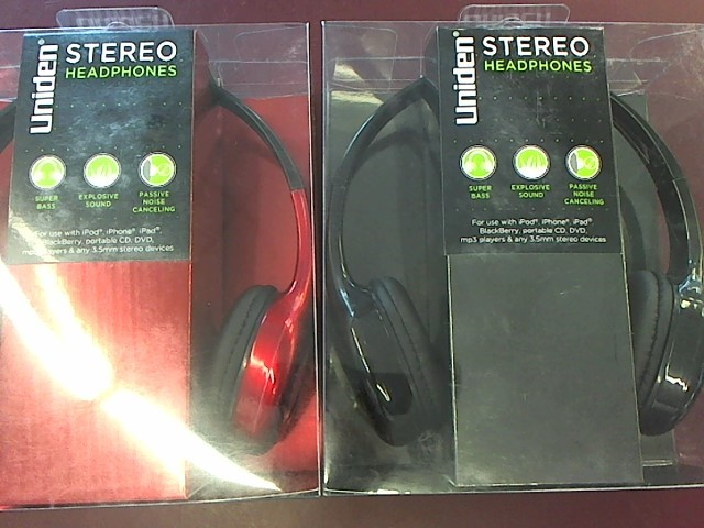 UNIDEN Cell Phone Accessory HEADSET