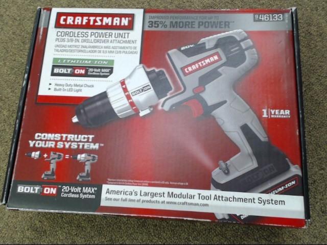CRAFTSMAN 20V Cordless Drill 900.46133