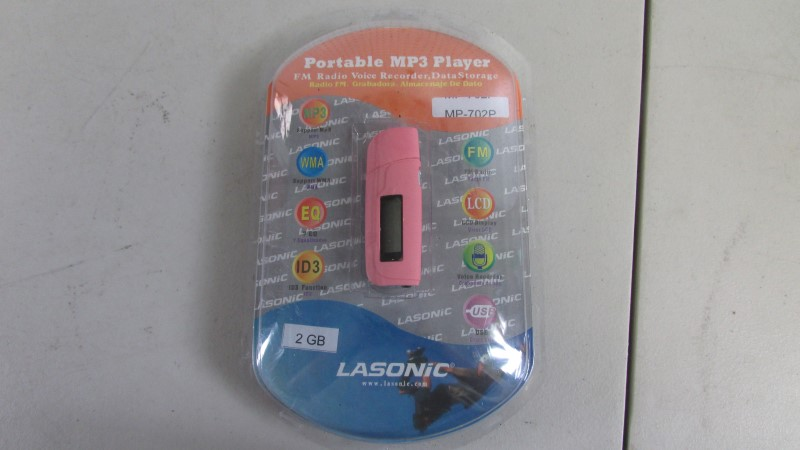 LASONIC POTABLE MP3 PLAYER MP-702