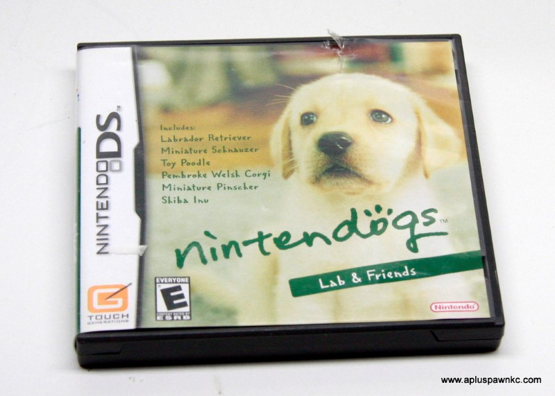 NINTENDO Nintendo DS Game DS NINTENDOGS LAB AND FRIENDS