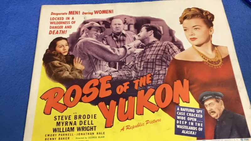 ROSE OF THE YUKON MINI MOVIE POSTER 14X11