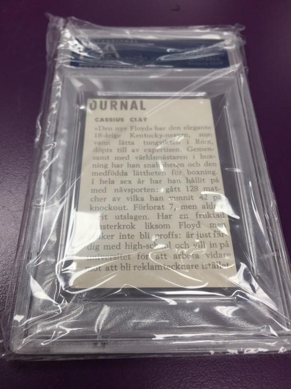 1960 HEMMETS JOURNAL CASSIUS CLAY HAND CUT
