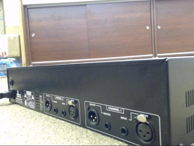 DBX 1231 Dual 31-Band Equalizer Rack Mount