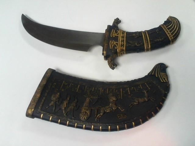 Egyptian style dispay knife