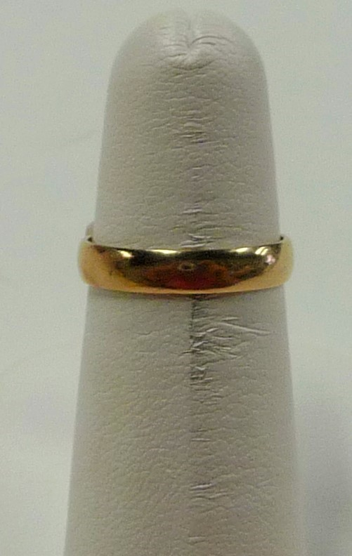 Lady's Gold Ring 14K Yellow Gold 1.4dwt