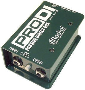 RADIAL ENGINEERING Home Audio Parts & Accessory PRO DI