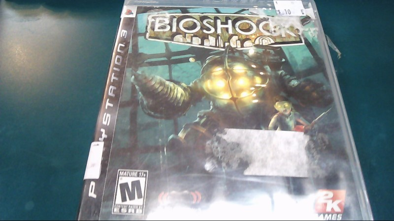 SONY Sony PlayStation 3 Game BIOSHOCK