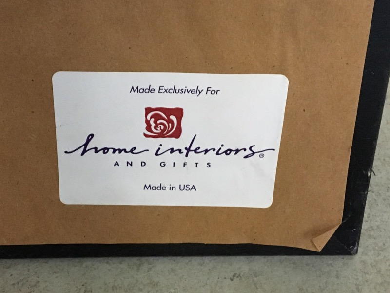 HOME INTERIORS Print LARGE PRINT FRAME