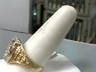 Onyx Gent's Stone & Diamond Ring 14 Diamonds .070 Carat T.W. 14K Yellow Gold