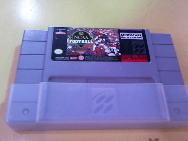 NINTENDO Nintendo SNES Game NCAA FOOTBALL