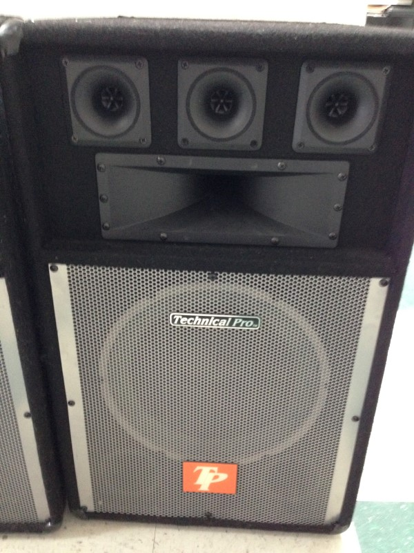 TECHINAL PRO Speaker Cabinet BOM-12 800 watts.