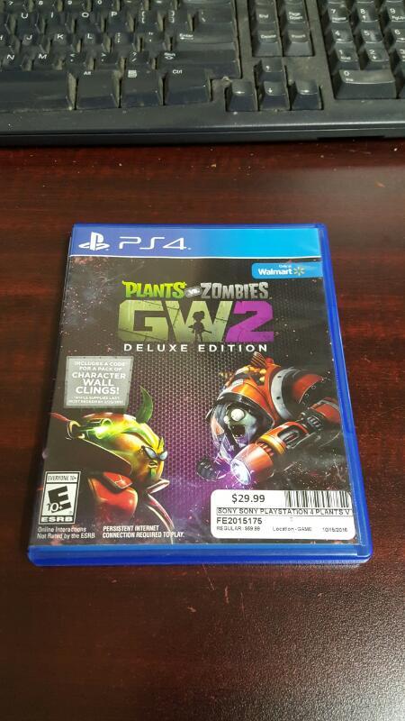 Plants vs. Zombies Garden Warfare 2 GW2 Deluxe Edition (PS4)