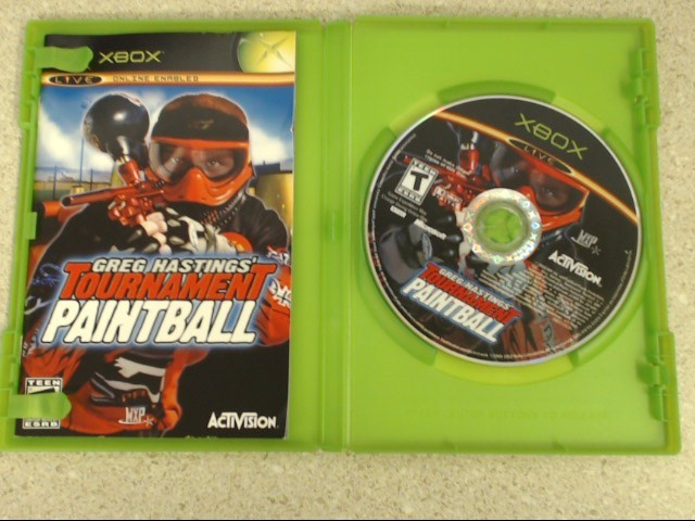 Greg Hastings' Tournament Paintball (Microsoft Xbox, 2004)
