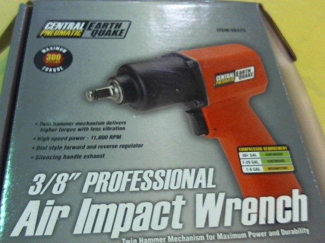 CENTRAL PNEUMATIC Air Impact Wrench 68425