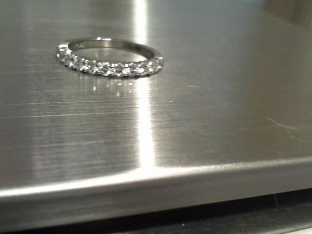 Lady's Platinum-Diamond Anniversary Ring 12 Diamonds .72 Carat T.W.