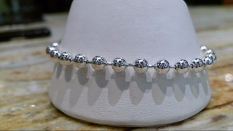 Silver Silpada Beaded Fashion Bracelet 925 Silver 10.5g