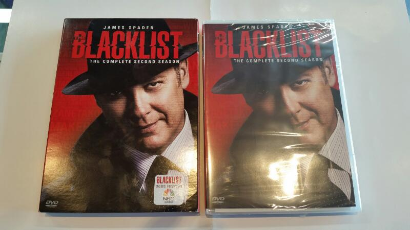 DVD BOX SET DVD THE BLACK LIST THE COMPLETE SECOND SEASON