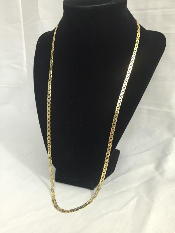 """26"""" Gold Chain 14K Yellow Gold 11.1dwt"""
