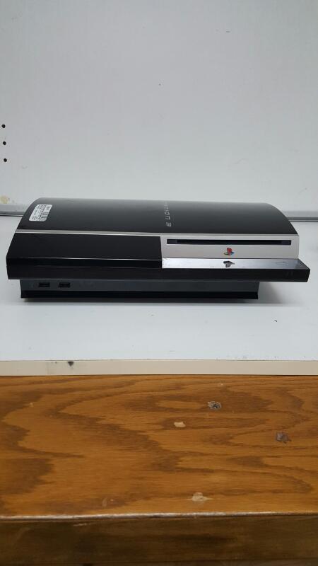 Sony PlayStation 3 Fat 80gb Black Console, PS3 (CECHL01, 2008)