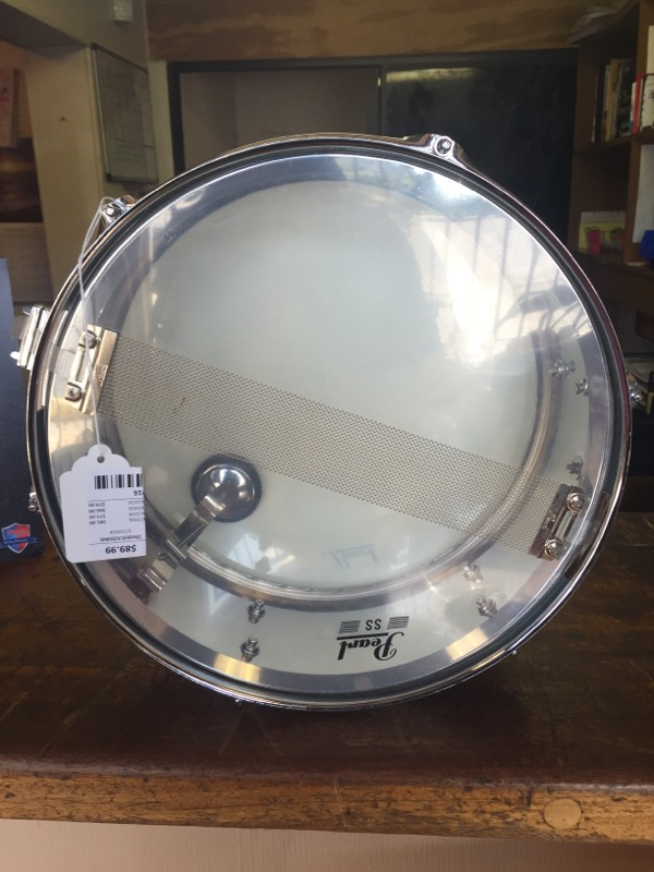 PEARL DRUMS Drum STEEL SHELL SNARE