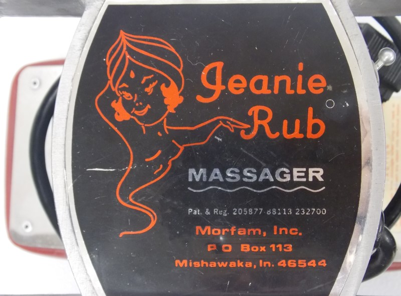 MORFAM JEANIE RUB MASSAGER, MODEL M69-315A