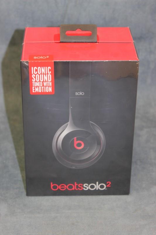 Beats Solo2 On-Ear Headphones, Black - Model# B0518
