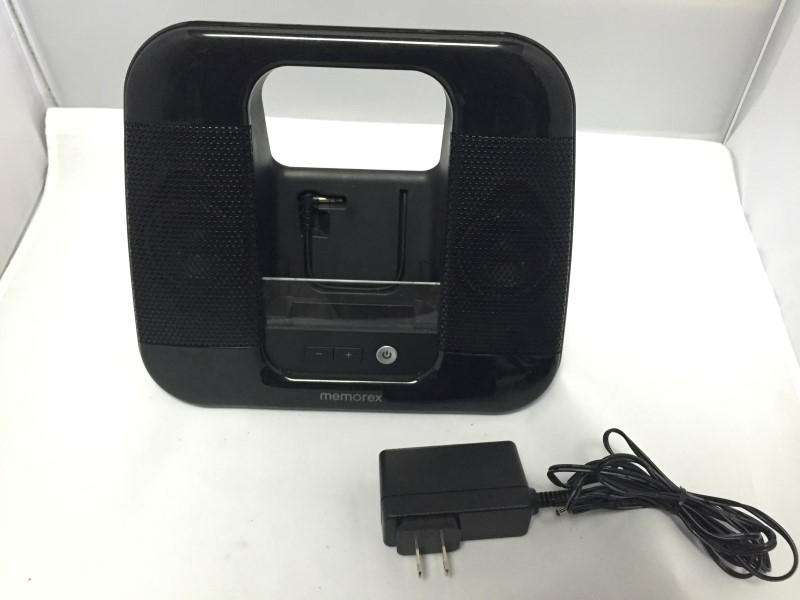 MEMOREX IPOD/MP3 SPEAKER ML410BK