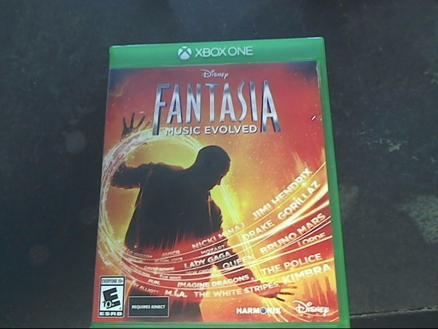 MICROSOFT Microsoft XBOX One Game FANTASIA MUSIC EVOLVED