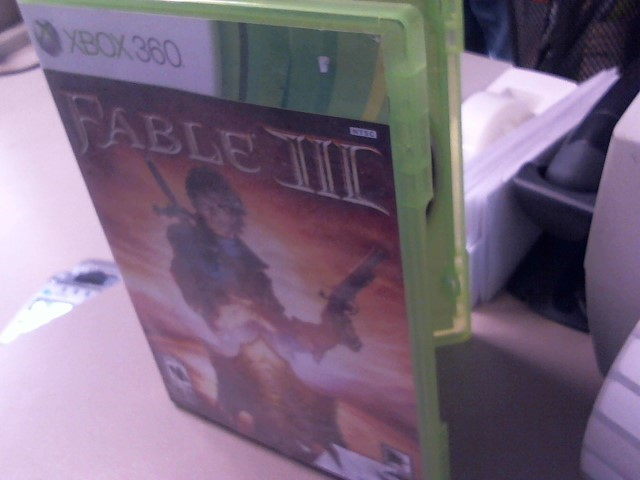 FABLE 3-XBOX 360