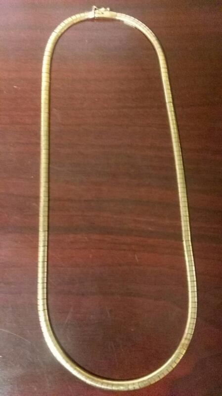 Gold Fine Chain 14K Yellow Gold 24g