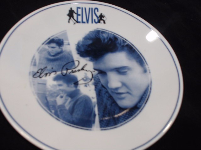 ELVIS Collectible Plate/Figurine PLATE