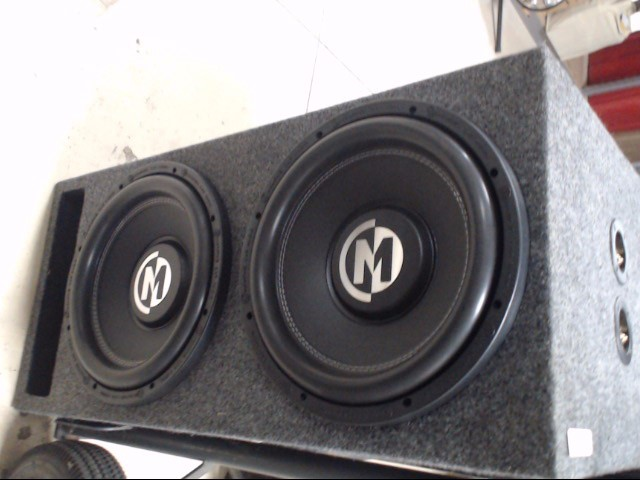 "MEMPHIS AUDIO Car Speakers/Speaker System BR12D4 12"""