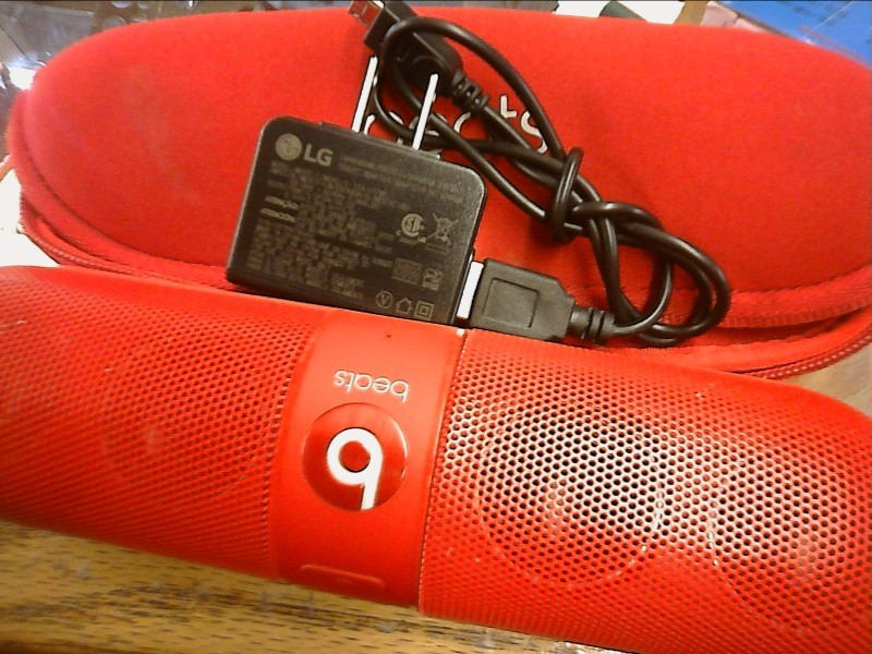 MONSTER Speakers BEATS BY DRE PILL (RED)