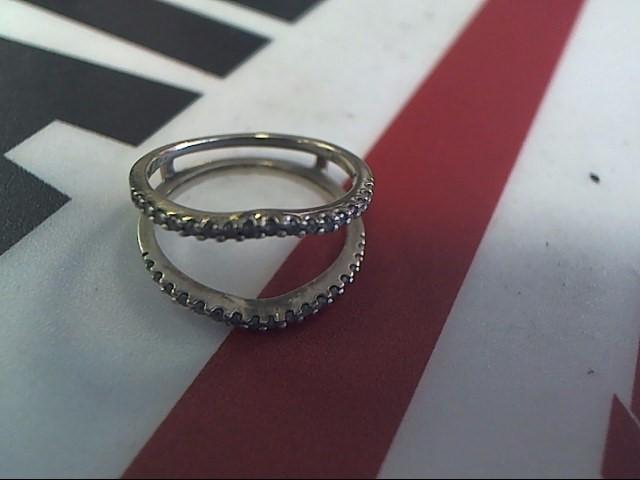 Lady's Diamond Wedding Set 34 Diamonds .34 Carat T.W. 10K White Gold 1.8dwt