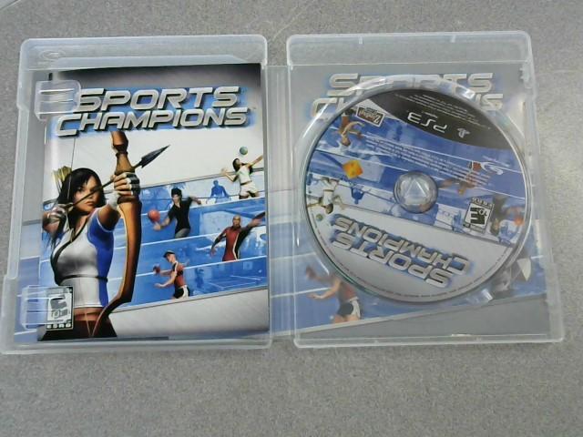 SONY Sony PlayStation 3 Game SPORTS CHAMPIONS