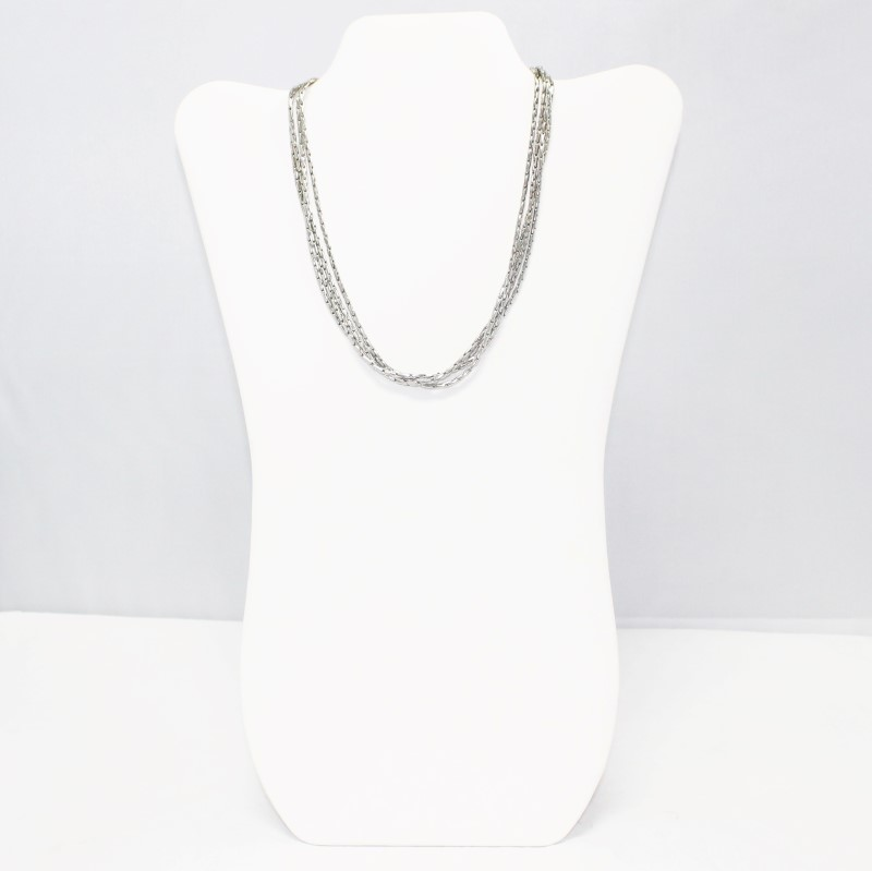 """17"""" STAINLESS STEEL ROPE NECKLACE"""