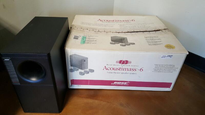 BOSE Home Media System ACOUSTIMASS 6