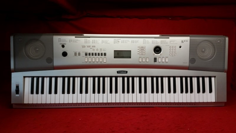 YAMAHA 76 Key Portable Grand Piano YPG-225 w/ 489 Voices & 6-track Song Recorder