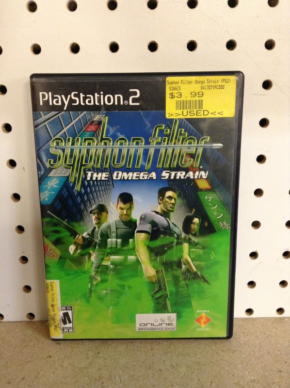 SONY Sony PlayStation 2 Game SYPHON FILTER THE OMEGA STRAIN