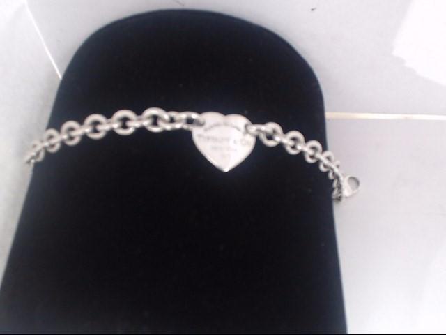 Silver Link Bracelet 925 Silver 27g