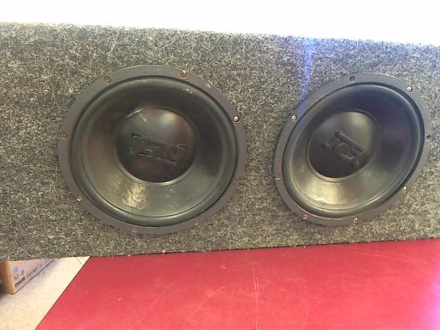 """MTX AUDIO Car Speakers/Speaker System 2 10"""" SPEAKERS SUB IN BOX"""