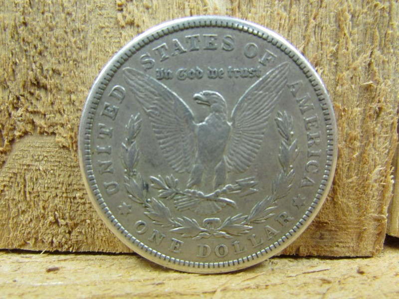 UNITED STATES Silver Coin 1921 S MORGAN
