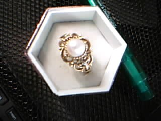 Lady's Gold Ring 10K Yellow Gold 3.61g