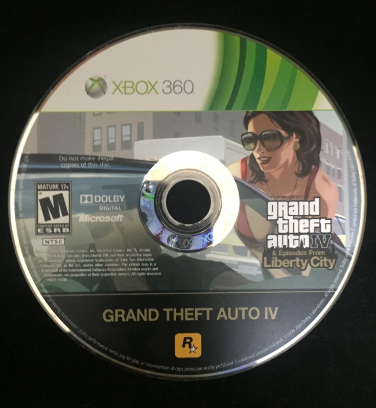 Grand Theft Auto IV & Episodes From Liberty City (XBOX 360) Video Game Rated M