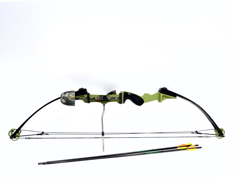 York CNC-1 Graphite Right Handed Compound Bow Package 50-60lb Draw>