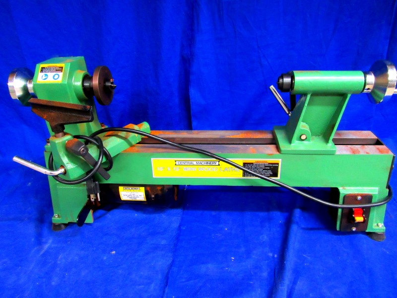 CENTRAL MACHINERY LATHE 65345