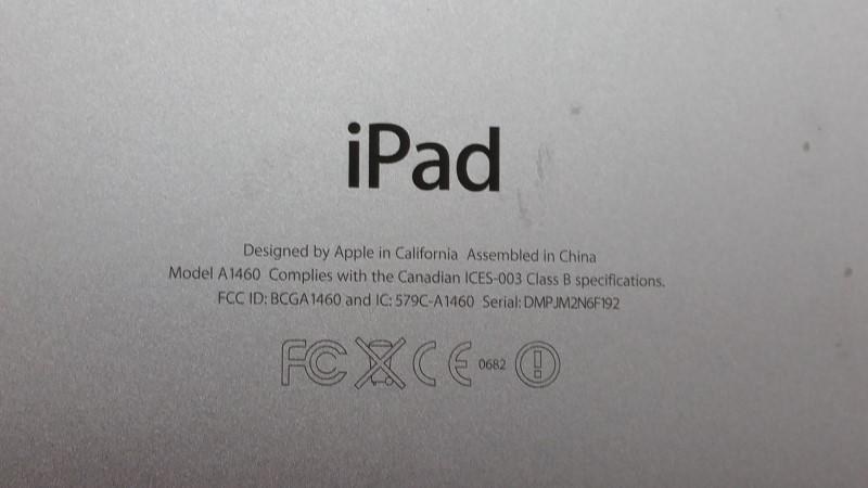 APPLE IPAD TABLET A1460 64GB