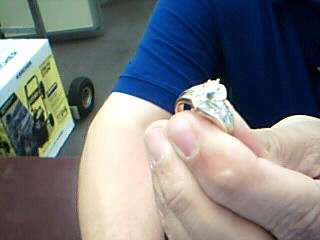 Lady's Diamond Engagement Ring 19 Diamonds .68 Carat T.W. 14K Yellow Gold 6.8g