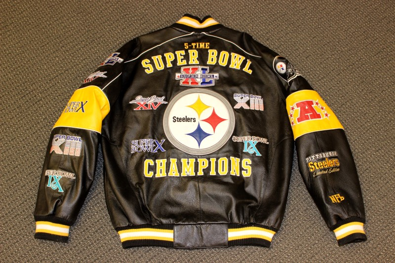Pittsburgh steelers leather jackets