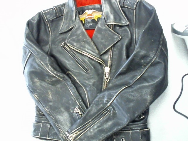 HARLEY DAVIDSON Clothing LADIES BLACK LEATHER JACKET